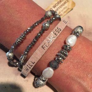 Jewelry - Good Works Bracelet- I can I will.